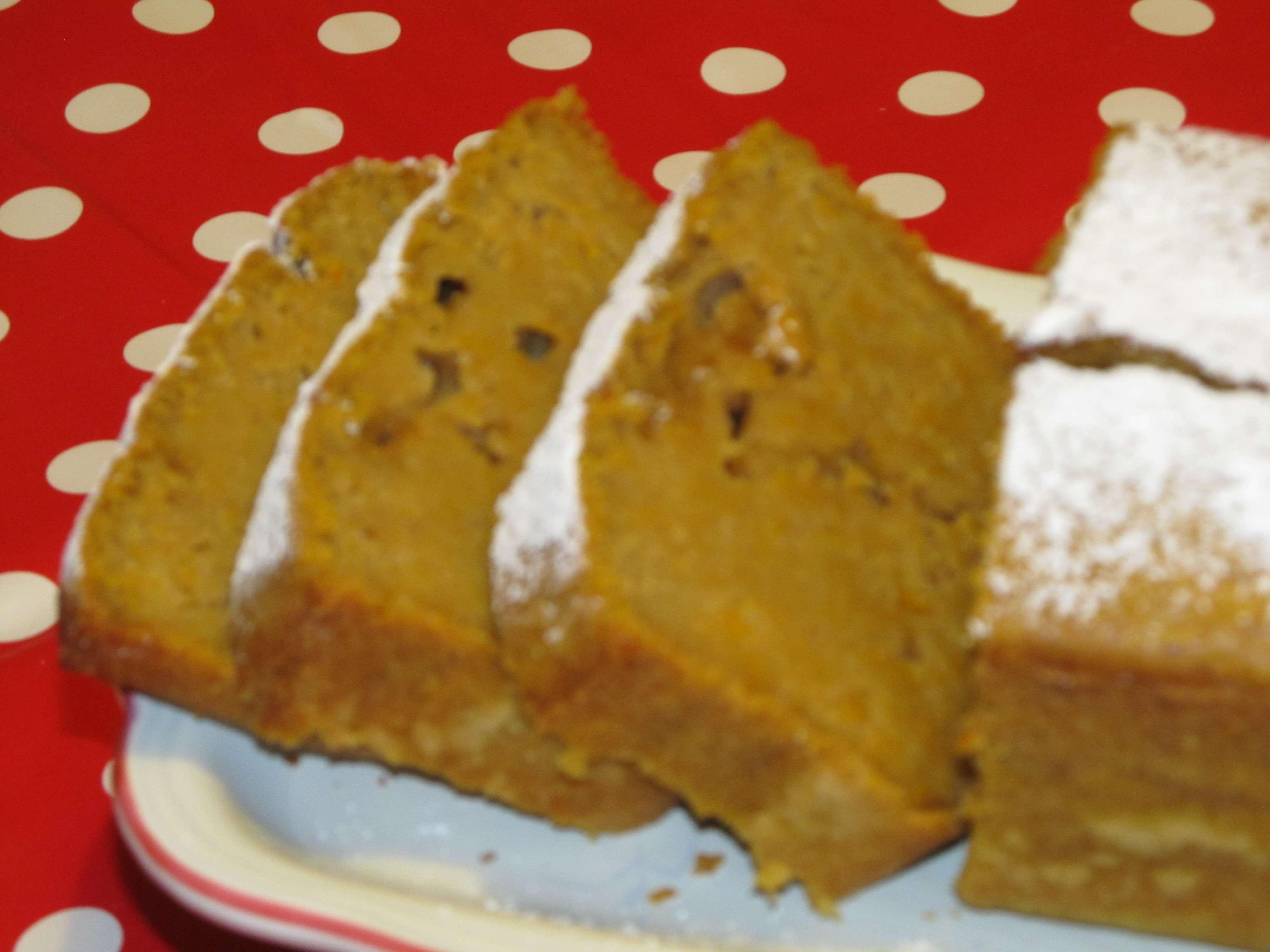 Cake moelleux au potiron et aux pices un peu entre le - Cake au potiron sucre ...