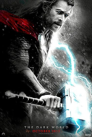 Cartel de Thor 2 dark world