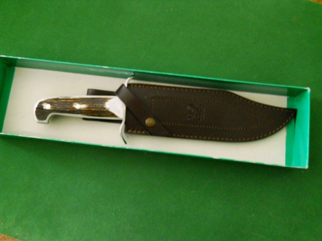 H&R Bowie Knife w/Stag Handle - Other Weapons