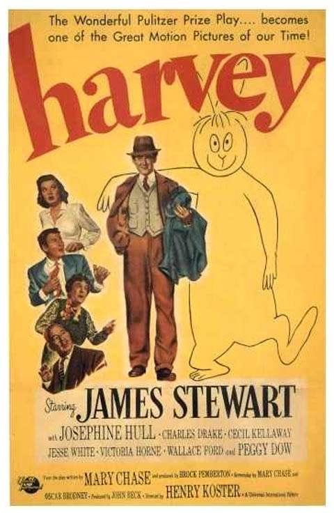 Harvey - 1950 BRRip XviD AC3 - Türkçe Dublaj Tek Link indir